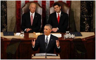 """在其任期内的最后一次国情咨文中,美国总统奥巴马宣布启动国家癌症""""登月计划"""".png"""