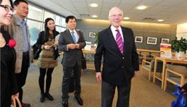 公司领导访问麻省总医院(2013.5,波士顿)