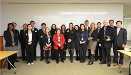 盛诺一家与麻省总医院协调会(2013年11月,波士顿)