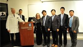 公司领导访问波士顿儿童医院(2013.11,波士顿)