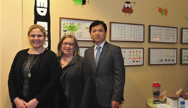 公司领导访问波士顿儿童医院