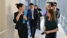 公司领导访问布列根和妇女医院(2013.11,波士顿)
