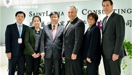 美国克利夫兰医学中心访问盛诺一家,打造以患者为中心的海外就医平台