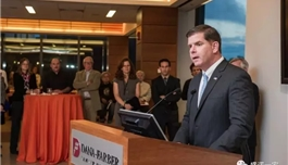 海外医疗 7岁患癌,现在,他是波士顿市长……