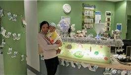 国内诊断活不过1岁、伊能静亲拍视频鼓励的怪病宝宝,从英国传来好消息…
