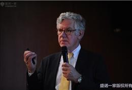 美国联盟医疗体系国际部总裁Dr. Mudge在朝阳医院做主题演讲 (3)