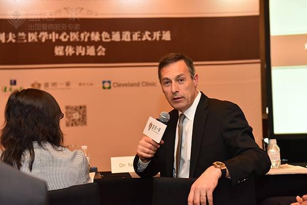 克利夫兰医学中心全球患者服务中心主席、医务主任 Nizar N. Zein