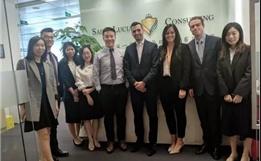 美國紀念斯隆-凱特琳癌癥中心國際部到訪亞美ag旗艦廳廣州子公司