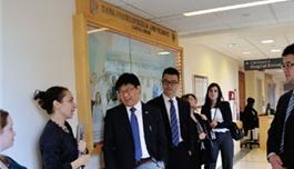 公司医学部访问丹娜法伯(2013.11,波士顿)