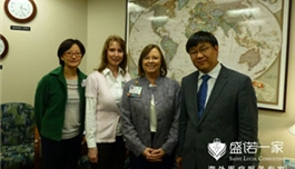 公司蔡总访问安德森癌症中心(2013.3,休斯顿)