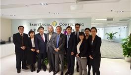 日本癌研有明医院访问盛诺一家双方签署《体检备忘录》