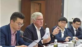 盛诺一家战略顾问、原美国联盟医疗体系国际部CEO兼总裁Mudge博士到访海南