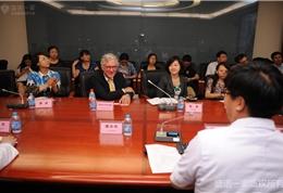 美国联盟医疗体系国际部总裁Dr. Mudge参加安贞医院研讨会