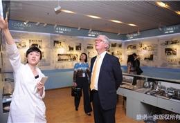 美国联盟医疗体系国际部总裁Dr. Mudge和盛诺一家董事长蔡强先生参观安贞医院 (3)