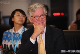 美国联盟医疗体系国际部总裁Dr. Mudge在安贞医院活动现场 (8)