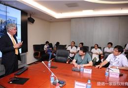 美国联盟医疗体系国际部总裁Dr. Mudge在安贞医院做主题演讲 (5)