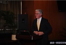 美国联盟医疗体系国际部总裁Dr. Mudge在朝阳医院活动现场 (2)