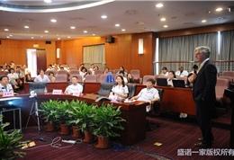 美国联盟医疗体系国际部总裁Dr. Mudge在朝阳医院活动现场 (5)