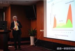 美国联盟医疗体系国际部总裁Dr. Mudge在朝阳医院做主题演讲