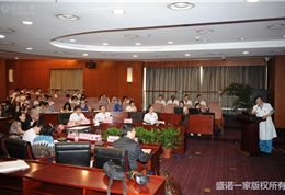 美国联盟医疗体系国际部总裁和盛诺一家董事长蔡强先生在朝阳医院活动现场 (2)