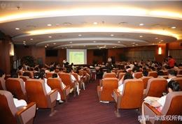 美国联盟医疗体系国际部总裁和盛诺一家董事长蔡强先生在朝阳医院活动现场