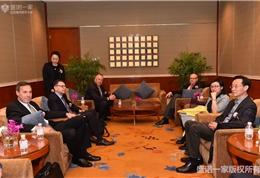 克利夫兰医学中心在华开通医疗绿色通道仪式现场 (9)