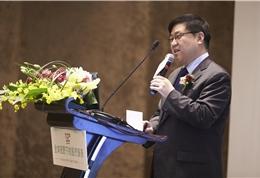 盛诺一家创始人、董事长蔡强做主题演讲